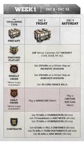 http siege call of duty wwii winter siege detailed calendar