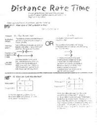 distance rate time word problems worksheet u0026 task cards b math