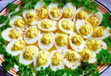 devilled egg platter heavenly deviled eggs