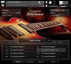 tutorial virtual guitar electric sunburst is a new virtual guitar instrument for kontakt 5