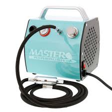 master airbrush compressor 1 8 hp unit with 6 u0027 air hose u0026 moisture