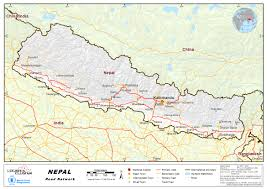 Map Nepal India by 2 3 Nepal Road Network Logistics Capacity Assessment Wiki