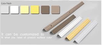 low price pvc aluminum inner ceramic tile corner trim for marble