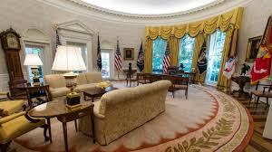 Oval Office Clock by White House Renovations To Be Completed Next Week Including New