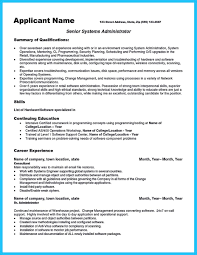 Resume For Warehouse Jobs by Attract Your Employer With Defined Administrator Resume