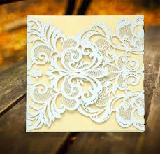 laser cut wood invitations white laser cut invitation card u2013 masterweddingcards com