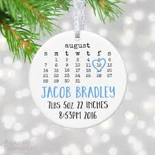 personalized gift for baby personalized baby announcement ornament personalized gift market