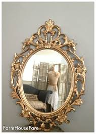 ornate mirrors baroque mirror large gold wall mirror