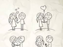 40 free love couple sketch graphics tag ui download