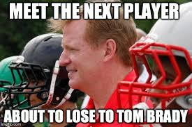 Roger Goodell Memes - roger goodell to lose to tom brady imgflip