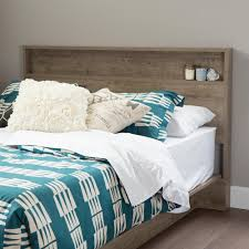South Shore Headboard South Shore Holland Weathered Oak Full And Queen Size Headboard