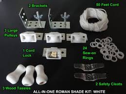 Roman Shade Parts - roman shade hardware kit casanovainterior