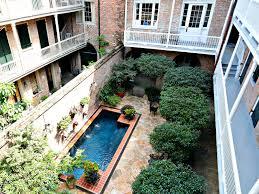 extraordinary 12 french quarter courtyard house plans homeca