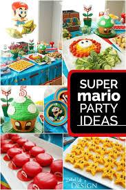 mario birthday party on a boy s mario party spaceships and laser beams