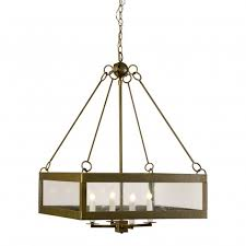 Square Pendant Light Calibougie Square Pendant With Seeded Glass For Sale Cottage