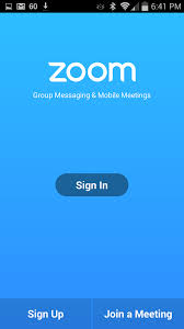 getting started with android u2013 zoom help center