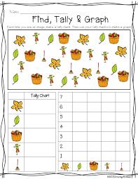 fall find tally u0026 graph freebie themes u0026 schemes fall leaves