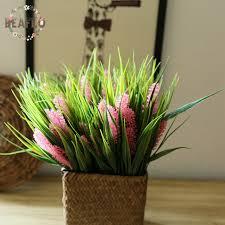 Silk Flower Centerpieces Online Shop 1pc Artificial Plastic Hyacinth Water Grass Plant Silk