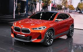 the bmw x2 concept was unveiled at the paris auto show in 2016 a
