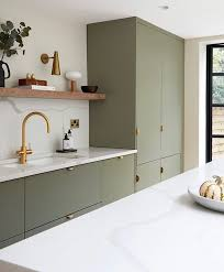 benjamin green kitchen cabinets 7 gorgeous green kitchens to change your luck all year