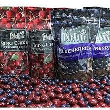 costco dilettante chocolate covered cherries blueb