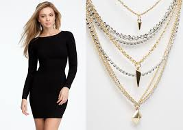 chain necklace dress images 6 different accessories for different dresses stylingstars jpg