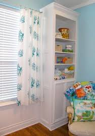 Yellow Curtains Nursery Diy No Sew Curtains