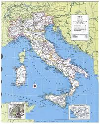 The Map Of Italy by Large Detailed Political And Administrative Map Of Italy With