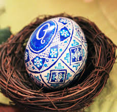 making ukrainian easter eggs pysanki put that on your blog