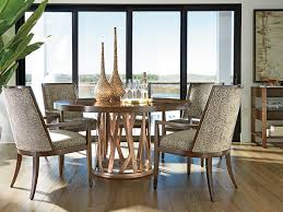 zavala horizons round dining table lexington home brands
