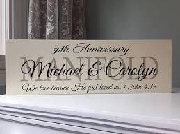 50th anniversary gift ideas for parents 50th wedding anniversary gifts for parents gift ideas party
