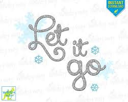let it go let it go clipart