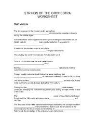 tudor instruments stringed instruments worksheets and