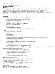 liliana radwanski phlebotomist resume