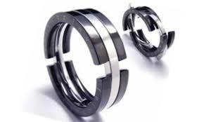 mens black titanium wedding rings titanium rings mens titanium rings cross titanium rings