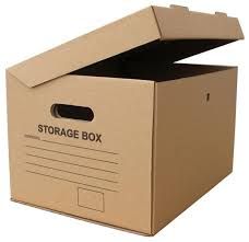 cardboard storage boxes can help you stay organized packaging