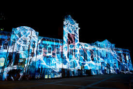 Projector Christmas Lights by 3d Video Mapping Outdoor U0026 Building Projection Large Format