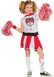 kids zombie cheerleader costume escapade uk