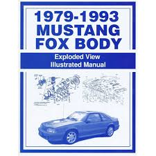 jim osborn mp0024 mustang exploded view illustrated manual 1979 93