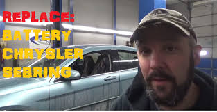 how to replace battery chrysler sebring youtube