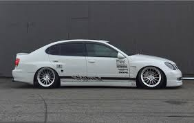 stanced lexus gs400 serialnine breed fender series jzs161 gs300 gs400