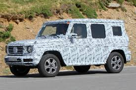 mercedes g wagon green new 2018 mercedes g class spied by car magazine