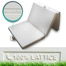 materasso comodo materassino futon pieghevole in 100 lattice