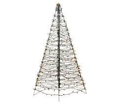 pre lit fold flat outdoor christmas tree by lori greiner page 1