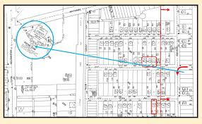 how laurel hardy filmed perfect day new discoveries chaplin the arrow marks the boys turn onto bedford the boxes mark the vera ave