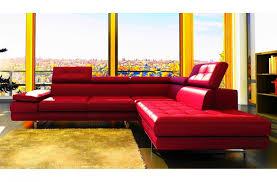 canapé d angle orange canap mobilier privé