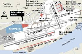 philadelphia international airport map map airport expansion plan philadelphia inquirer