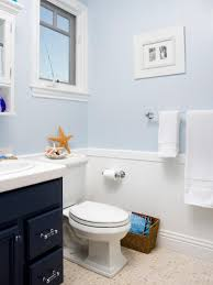 Dark Blue Powder Room 12 Designer Bathrooms For Less Hgtv