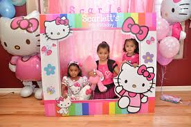 Photo Booth Frames Large Custom Birthday Frames Hello Kitty Photo Booth Frame