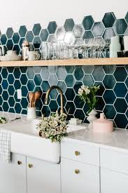 hexagon tile kitchen backsplash 20 kitchen backsplash ideas that totally steal the show homelovr